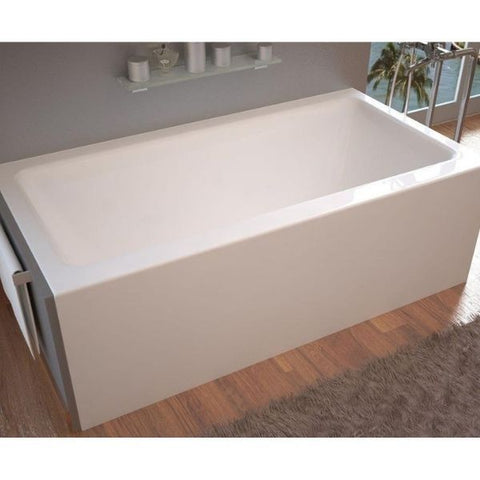 Atlantis Soho 32 x 60 Front Skirted Whirlpool Bathtub 3260SHL Front Top View
