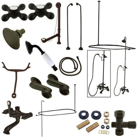 Kingston Brass Vintage Oil Rubbed Bronze Package  CCK1185AX View