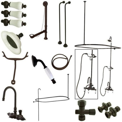 Kingston Brass Vintage Oil Rubbed Bronze Package  CCK2145PL View
