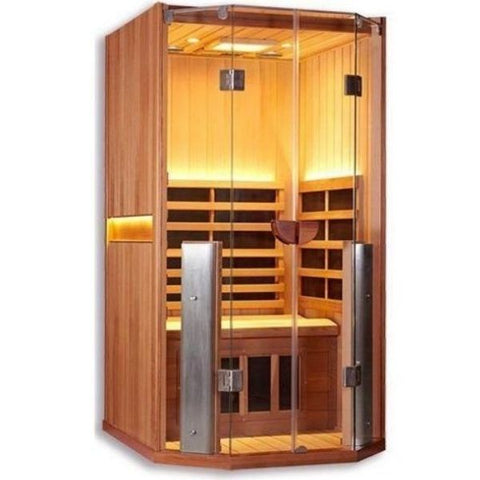 1 Person Full Spectrum Infrared Sauna Front View