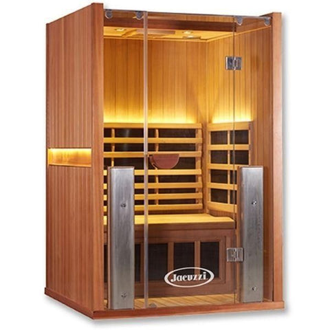 2 Person Full Spectrum Infrared Sauna Front View