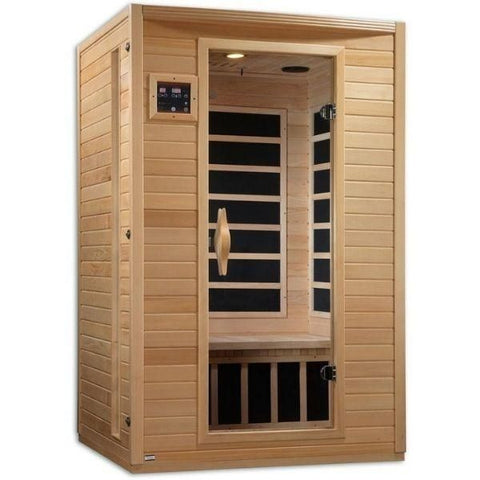 2 Person Infrared Sauna Side Front View