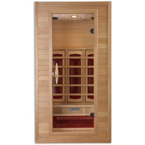 1-2 Person Infrared Sauna Front 1-2 Person Infrared Sauna Front View