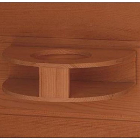 SunRay Sedona Infrared Sauna HL100K Cup Holder View