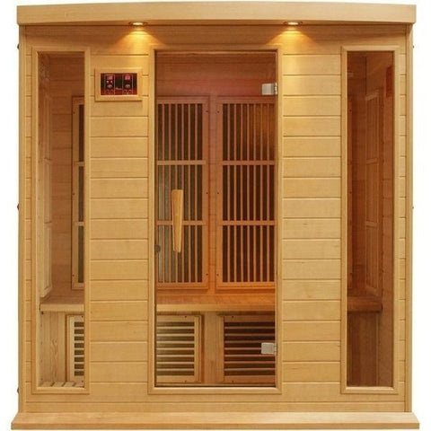 3 Person Infrared Sauna Front View