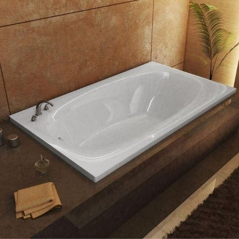 Atlantis Polaris 42 x 72 Rectangular Soaking Whirlpool Bathtub 4272P Top View