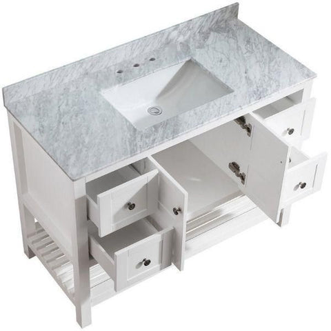 ANZZI Montaigne   V-MGG011-36 Sink and Cabinet View