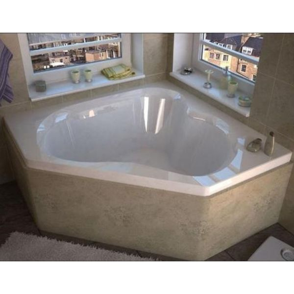 Atlantis Cascade Bathtub 6060C Front Top View