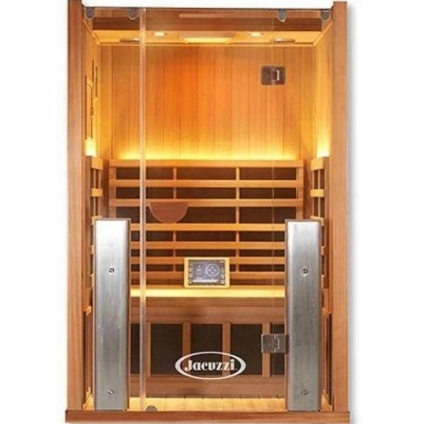 Clearlight Sanctuary Infrared Sauna 2-FS Front View