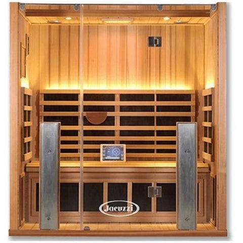 Clearlight Sanctuary Infrared Sauna 3-FS Front View