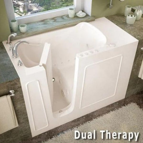 Meditub Walk-In Bathtubs   2653LWS Dual Therapy View
