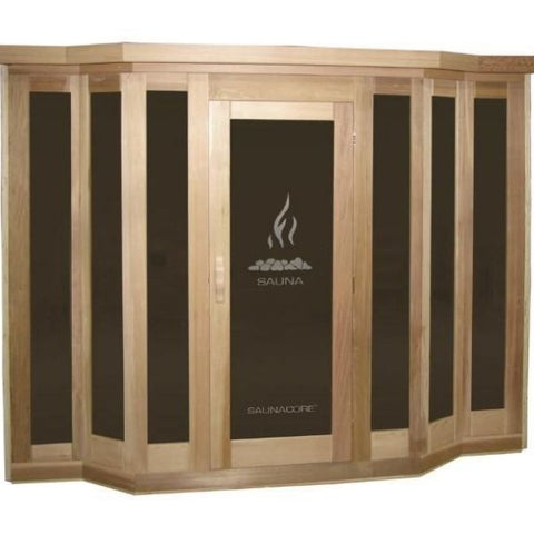 SaunaCore Infrared Saunas Traditional VU Classic Sauna Side View