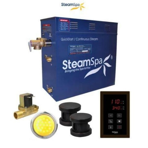 SteamSpa QuickStart  INT1050OB Yes Front View