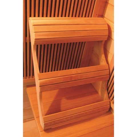 SunRay Sedona Infrared Sauna HL100K Ergonomic Backrest View