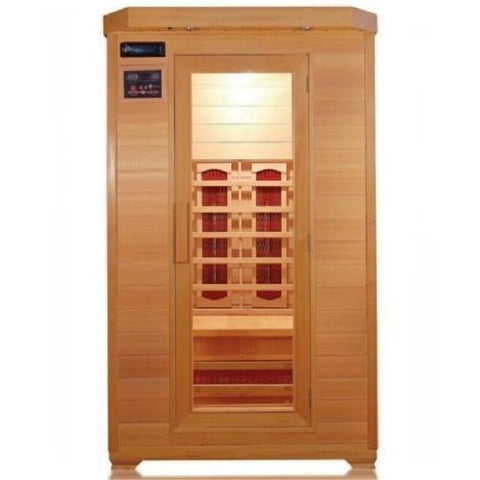 SunRay Kensington 2 Person Infrared Sauna HL200B Front View