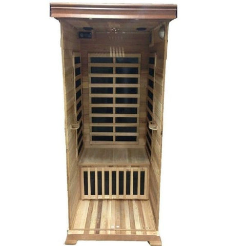 SunRay Sedona Infrared Sauna HL100K Open inside View