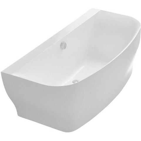ANZZI Bank Series White Freestanding Bathtub FT-AZ112