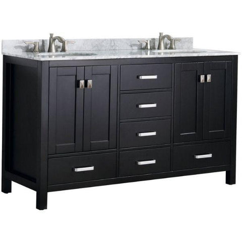 ANZZI Bathroom Vanities ANZZI Chateau Bathroom Vanity Front View V-CHO015-60