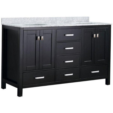 ANZZI Bathroom Vanities ANZZI Chateau Bathroom Vanity V-CHO015-60 Front Side View