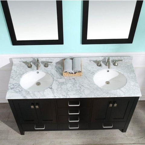 ANZZI Bathroom Vanities ANZZI Chateau  Bathroom Vanity V-CHO015-60  Top View