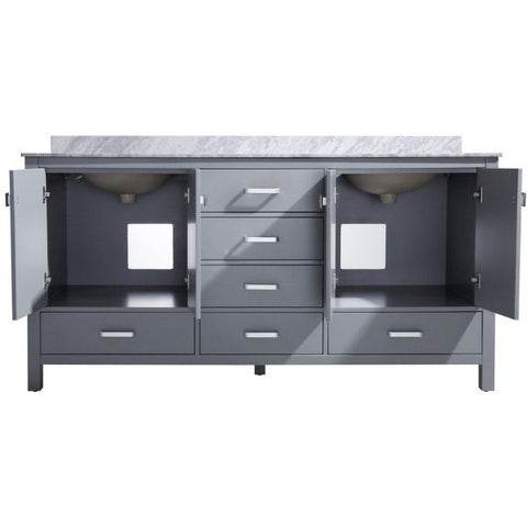 ANZZI Bathroom Vanities ANZZI Gray Bathroom Vanity V-CHN013-72 Cabinet View