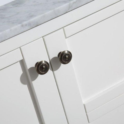 ANZZI Bathroom VanitiesA NZZI Montaigne White Bathroom Vanity Set V-MGG011-72 Cabinet Knobs View