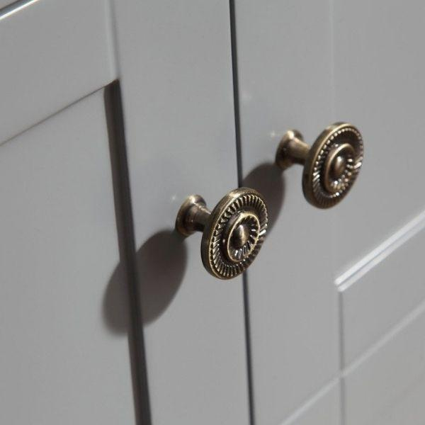 ANZZI Bathroom Vanities ANZZI Montaigne Bathroom Vanity in Rich  Gray V-MGG013-30 Cabinet Knobs View