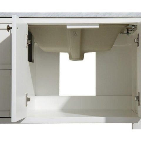 ANZZI Bathroom Vanities NZZI Montaigne White Bathroom Vanity Set V-MGG011-60  Cabinet View