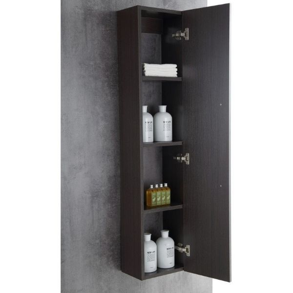 ANZZI Bathroom Vanities ANZZI Umber Bathroom Vanity Storage View V-CQA036-30