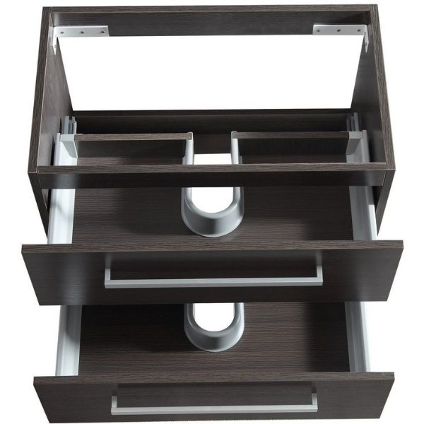 ANZZI Bathroom Vanities ANZZI Umber Bathroom Vanity V-CQA036-30 Drawer View