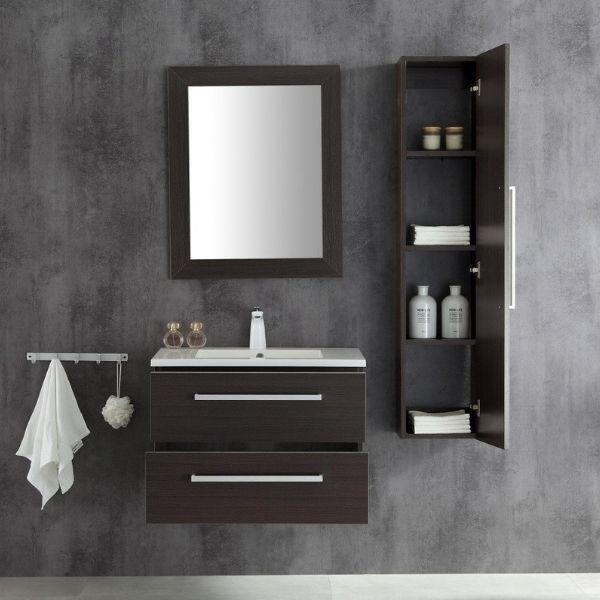 ANZZI Bathroom Vanities ANZZI Umber Bathroom Vanity V-CQA036-30 Front View