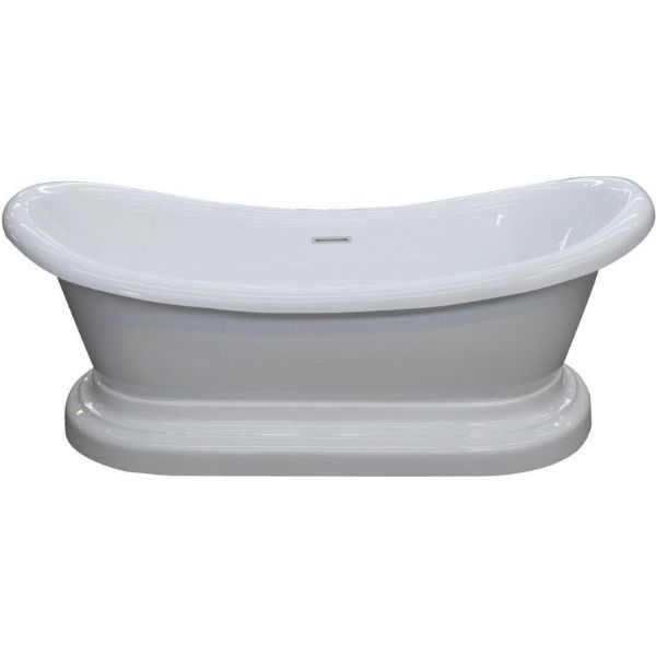 ANZZI Bathtubs ANZZI Freestanding Bathtub FT-AZ113 Front View