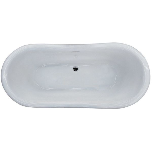 ANZZI Bathtubs ANZZI Freestanding Bathtub FT-AZ113 Top View