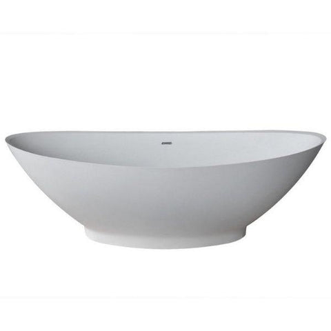 ANZZI Bathtubs ANZZI Ala Freestanding Bathtub Front View FT-AZ508
