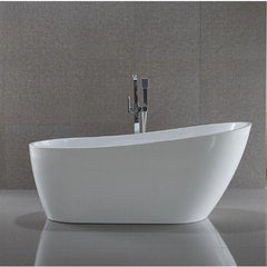 ANZZI Trend Series White Freestanding Bathtub FT-AZ093