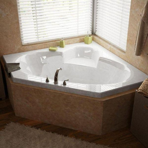 Atlantis Bathtubs Atlantis Whirlpools Sublime Corner Soaking Bathtub 6060S Front View