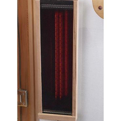 Clearlight Infared Saunas Cedar Clearlight Premier Five Person Far Infrared Sauna IS-5 Spectrum Infrared Heater View