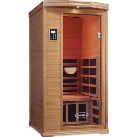 Clearlight Infrared Saunas Clearlight Premier IS-1 One Person Far Infrared Sauna Front View
