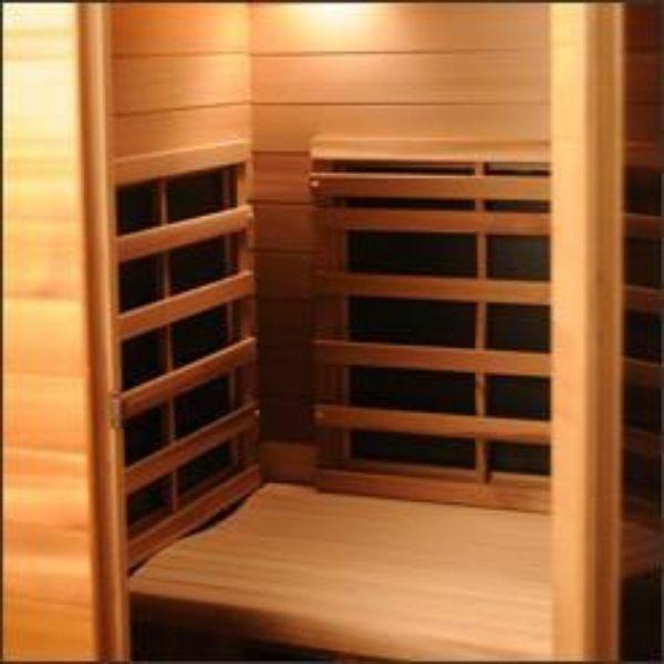 Clearlight Infrared Saunas Clearlight Premier IS-1 One Person Far Infrared Sauna  Ceramic Far Infrared Heaters View
