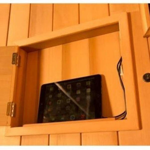 Clearlight Sanctuary 1 Full Spectrum One Person Infrared Sauna 1-FS Built in Charging View