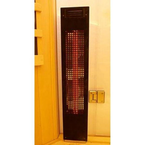 Clearlight Sanctuary 1 Full Spectrum One Person Infrared Sauna 1-FS Front Heater View