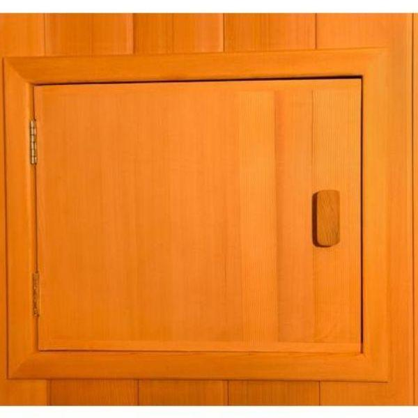 Clearlight Sanctuary 2 Full Spectrum Two Person Infrared Sauna 2-FS Built Charging and Audio Station View