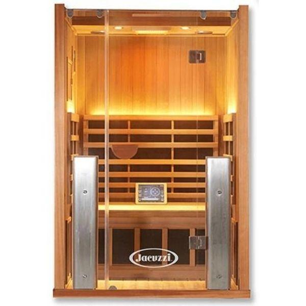 Clearlight Sanctuary 2 Full Spectrum Two Person Infrared Sauna 2-FS Front View