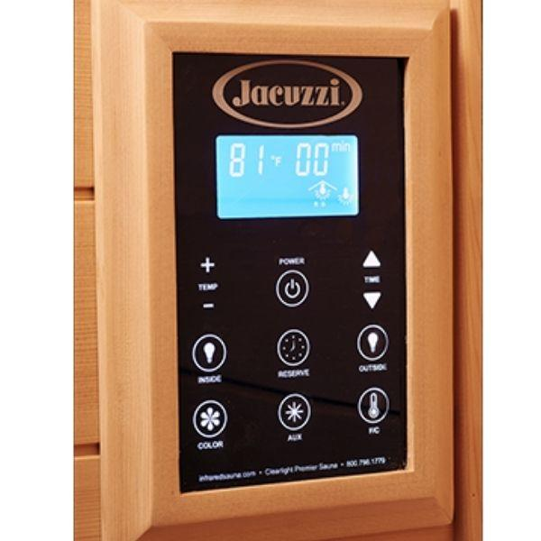 Clearlight Sanctuary 2 Full Spectrum Two Person Infrared Sauna 2-FS Keypad Controller View