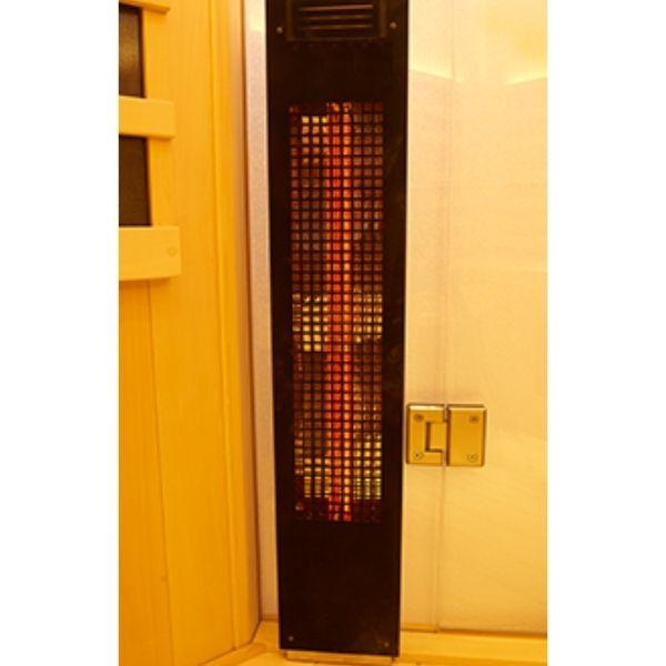 Clearlight Sanctuary 2 Outdoor Two-Person Full-Spectrum Infrared Sauna Heater View