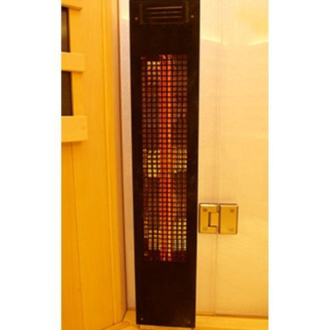 Clearlight Sanctuary 5 Outdoor Full Spectrum Five-Person Infrared Sauna Heater View