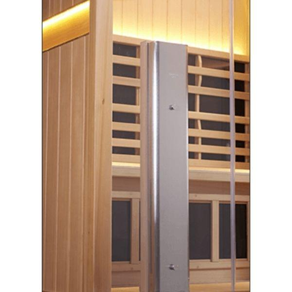 Clearlight Sanctuary Retreat Full Spectrum Four Person ADA-Compliant Infrared Sauna Spectrum Heater View