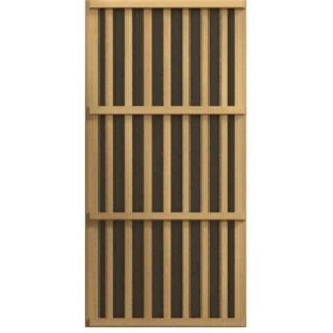 Golden Designs Maxxus Low EMF FAR Infrared Carbon Canadian Hemlock Sauna MX-K306-01 Heater View
