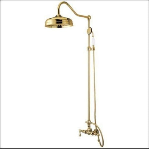 Kingston Brass Vintage Rain Drop Shower Combo Polished Chrome CCK6171  Brass View