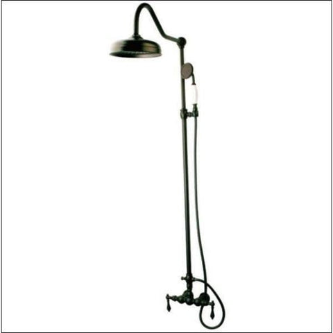 Kingston Brass Vintage Rain Drop Shower Combo Polished Chrome CCK6171  Oil Rubbed Bronze View